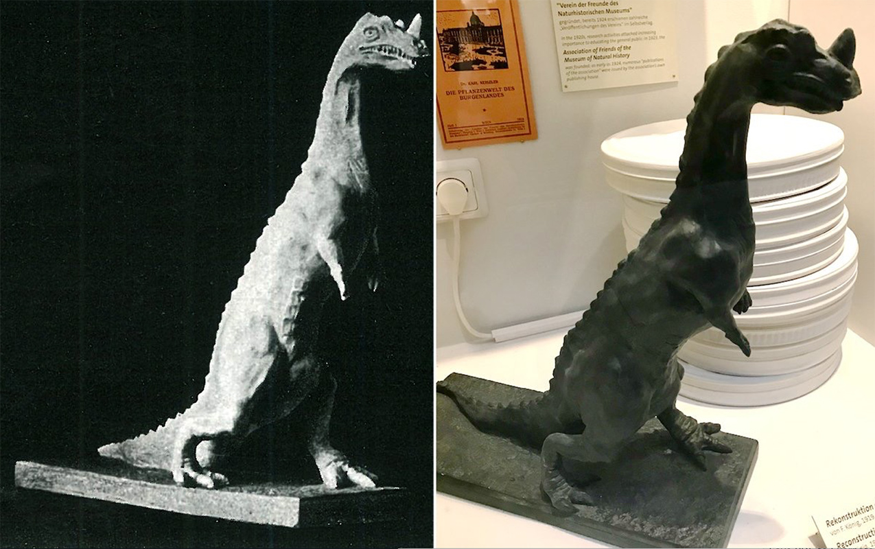 The Mystery of Friedrich König's Plaster Dinosaurs