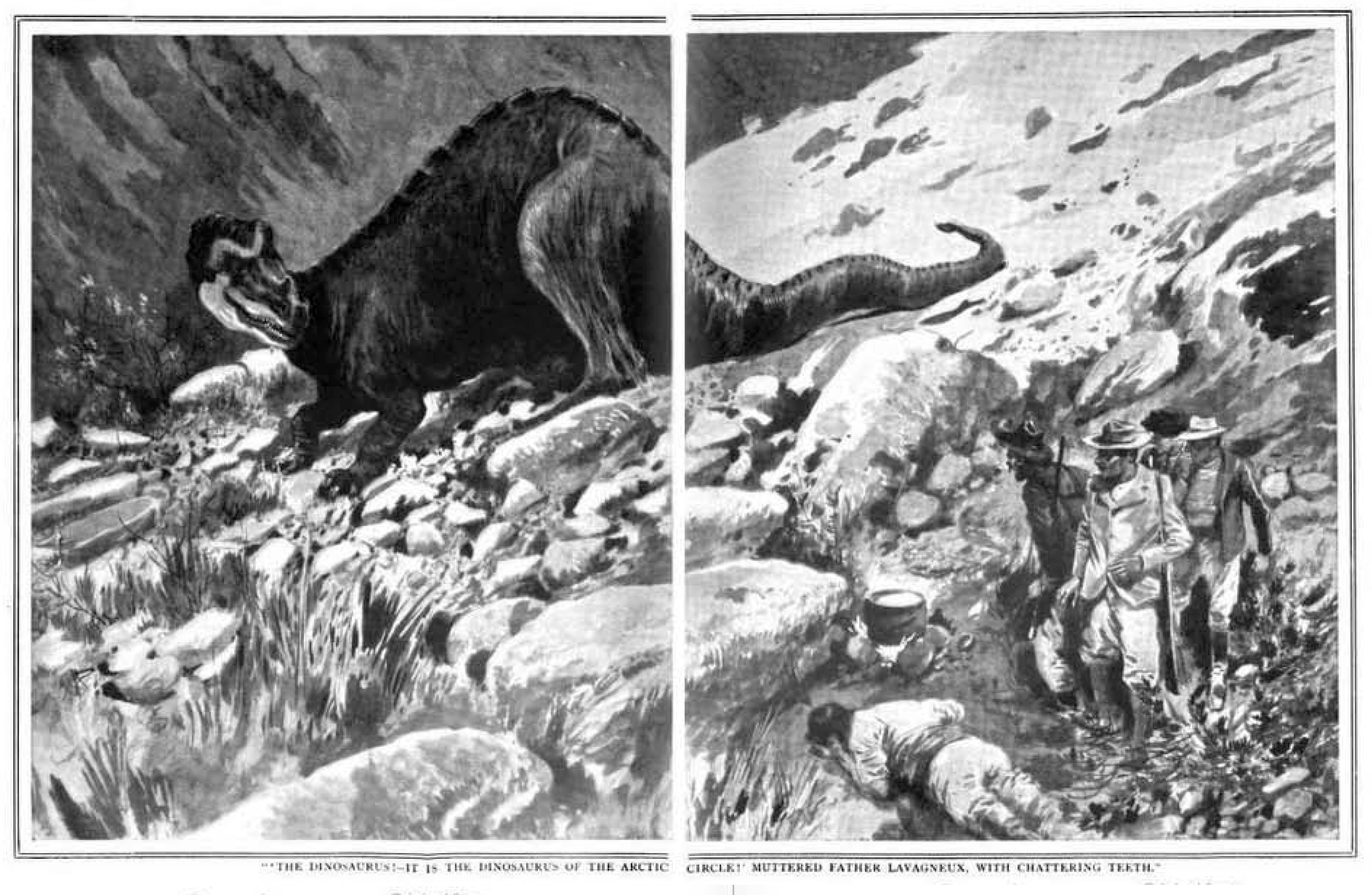 """""""It is Alive and May Be Captured"""". The Hunt for Living Dinosaurs in the Early 20th Century"""