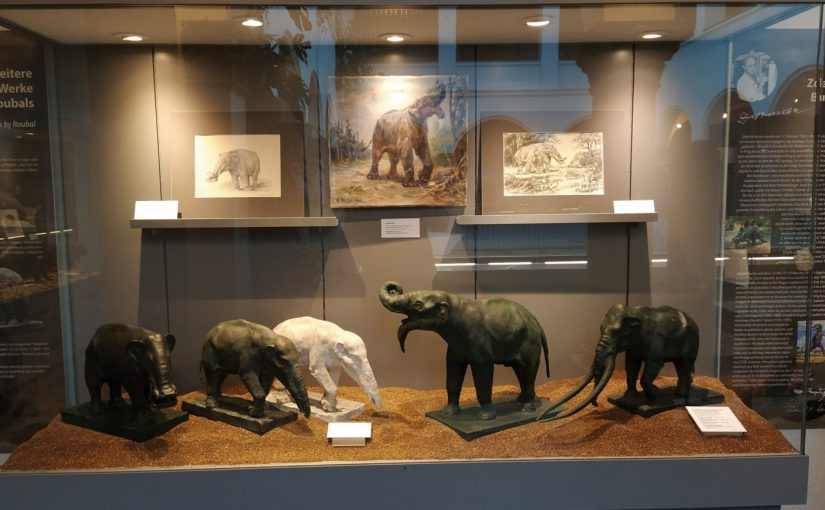 Paleoart history in Munich